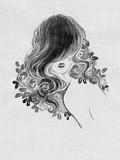 beautiful woman. fashion illustration. watercolor painting - 236901012