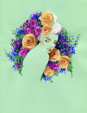 beautiful woman. fashion illustration. watercolor painting - 236902433