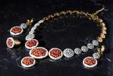 uzbek national handmade jewelry