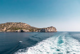View Of Island Of Rhodes From The Sea