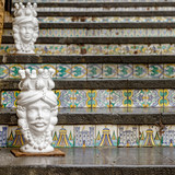 Stair of Caltagirone in Sicily