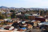 Panorama of Kutaisi. Georgia. the historical part of the city