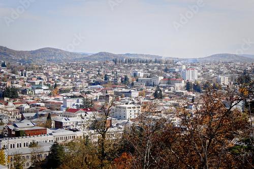 Panorama of Kutaisi. Georgia. the historical part of the city - 236935243