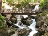 Wasserfall Brücke