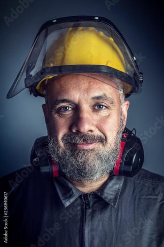 Foto Murales portrait of labor