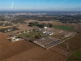 vue aérienne d'un transformateur à Boinville-en-Mantois dans les Yvelines en France - 236948255