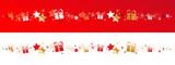 Frise étoiles + cadeaux - 236948463