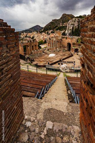 Grecko-rzymski teatr Taormina