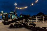 Anchor by Tower Bridge at Night