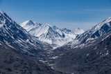 High-mountainous trough valley