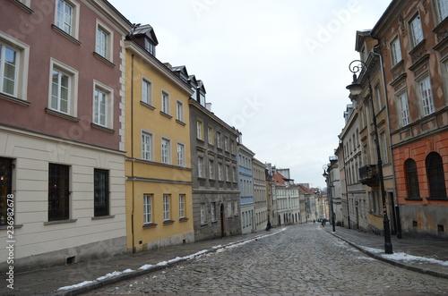 obraz lub plakat Fairytale towm Wroclaw in Poland New Year