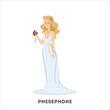 Persephone goddess of the dead. Greek mythology - 236984228
