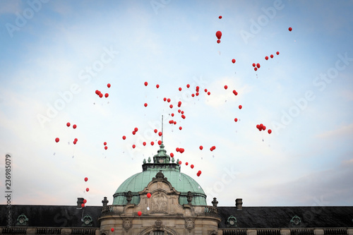 Leinwandbild Motiv luftballons