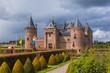 Leinwanddruck Bild - Muiderslot castle near Amsterdam - Netherlands