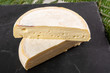Leinwanddruck Bild - closeup of french cheese reblochon, Savoie product