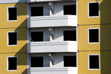 Unpopulated multi-storey residential building of brick - 237030848