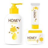 Honey Cosmetic Packaging Set
