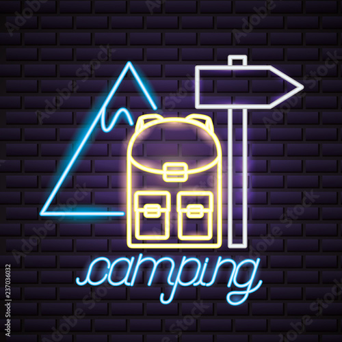 camping summer relate - 237036032
