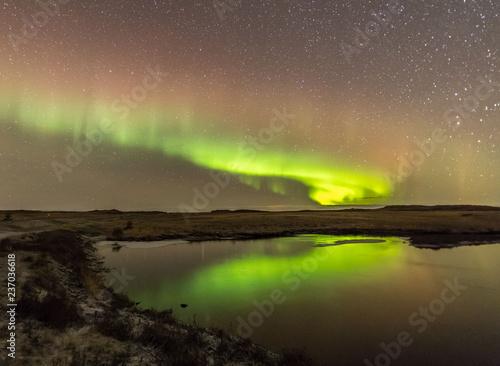 Northern Lights on Cold Icelandic Nights
