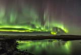 Northern Lights on Cold Icelandic Nights - 237039059