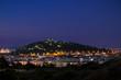 Colle San Michele Cagliari notte - 237049224