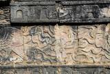 The Chichen Itza Maya ruins in Yucatan Peninsula Mexico