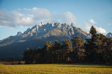 Beautiful Rock Mountain Landscape