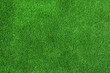 Leinwanddruck Bild - Artificial grass carpet as background, top view. Exterior element
