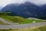 Beautiful drive thru the Austrian Alps - 237084253