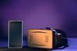 Smart phone and virtual reality headset