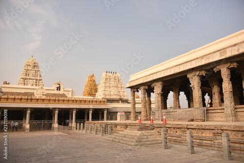 Kamakshi Amman Temple, Kanchipuram, Tamil Nadu, Indie