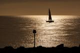 Sailing Ship and Sunset