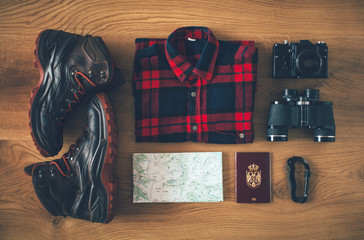 Travel equipment for outdoor adventure