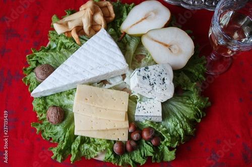 Christmas cheese plate - 237135439