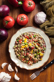 Bulgur salad with vegetables - 237137024
