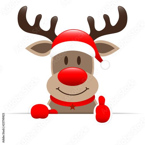 Rudolph Banner Thumb up © Jan Engel