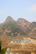 mountain village natural scenery in Beijing, China