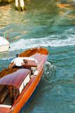 Taxiboot in Venedig - 237162884