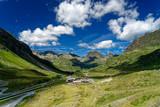 Silvrettagruppe in den Zentralalpen zwischen der Schweiz und Österreich von Österreich aus gesehen