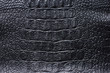 Black leather texture background for your design. - 237190428
