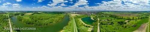 Luftbild Lampertheim am Altrhein - 237201038