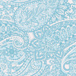 Paisley seamless pattern. Vector ethnic ornament - 237221286