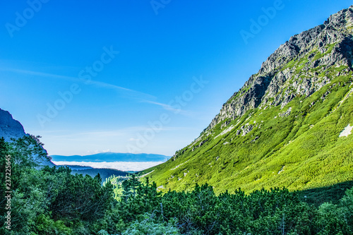 Valley in Tatra Mountains