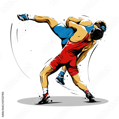 wrestling action 11