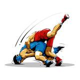wrestling action 12