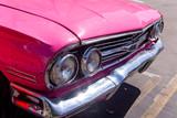 Havana, Cuba. Colorful classic 1950's cars