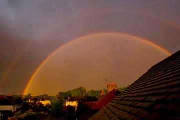 europe, UK, rainbow © charles