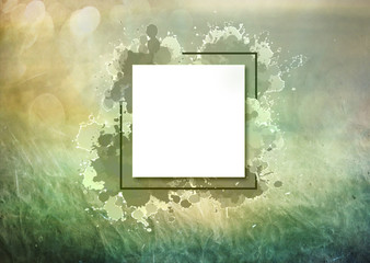 Writable Abstract Modern Effect On a Colorful Spring Texture Background