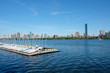 Boston Skyline iin summertime