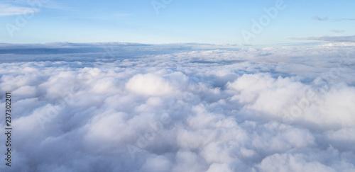 Cloudscape above cloud level - 237302201